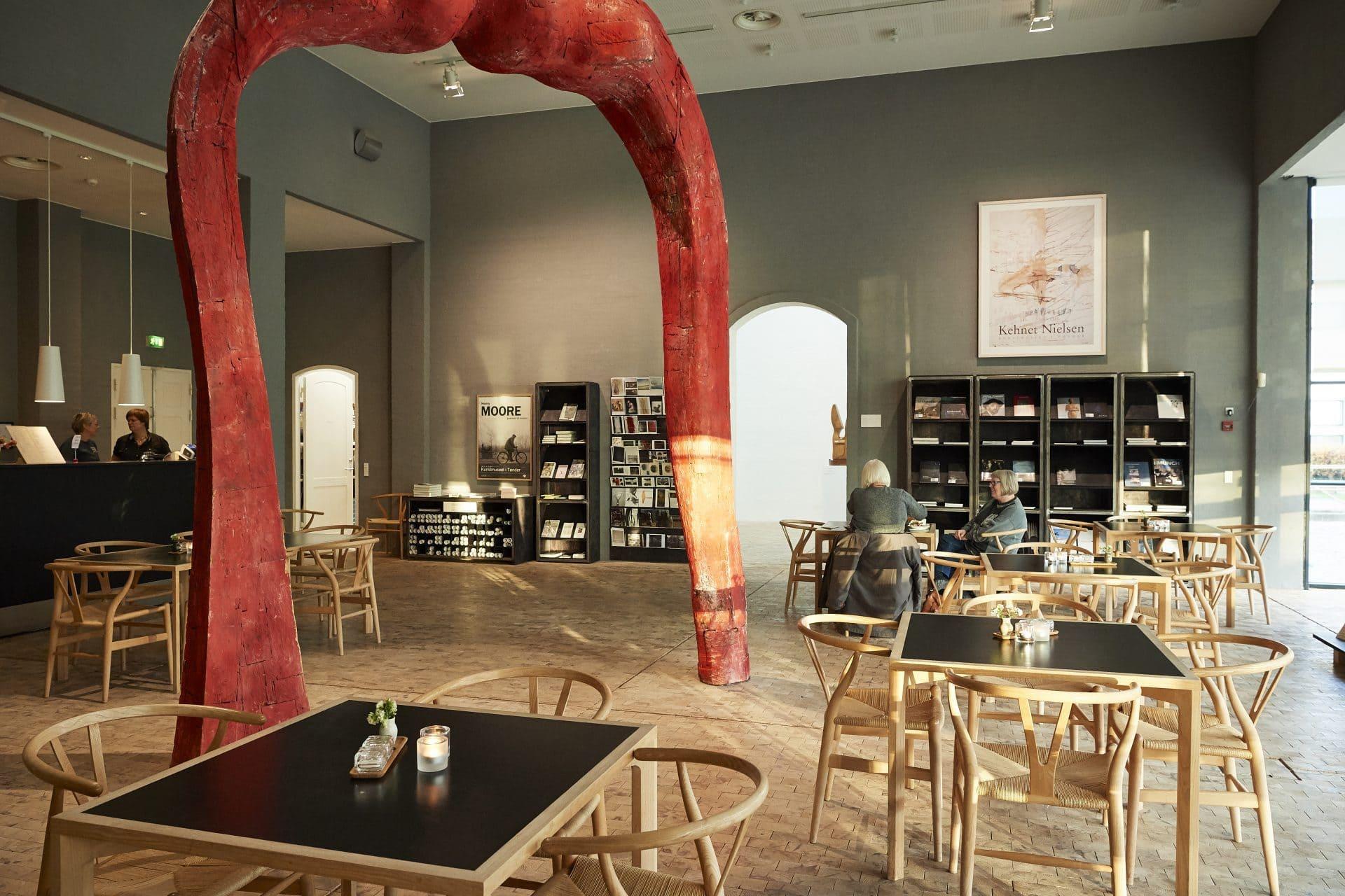 Besøg museets café