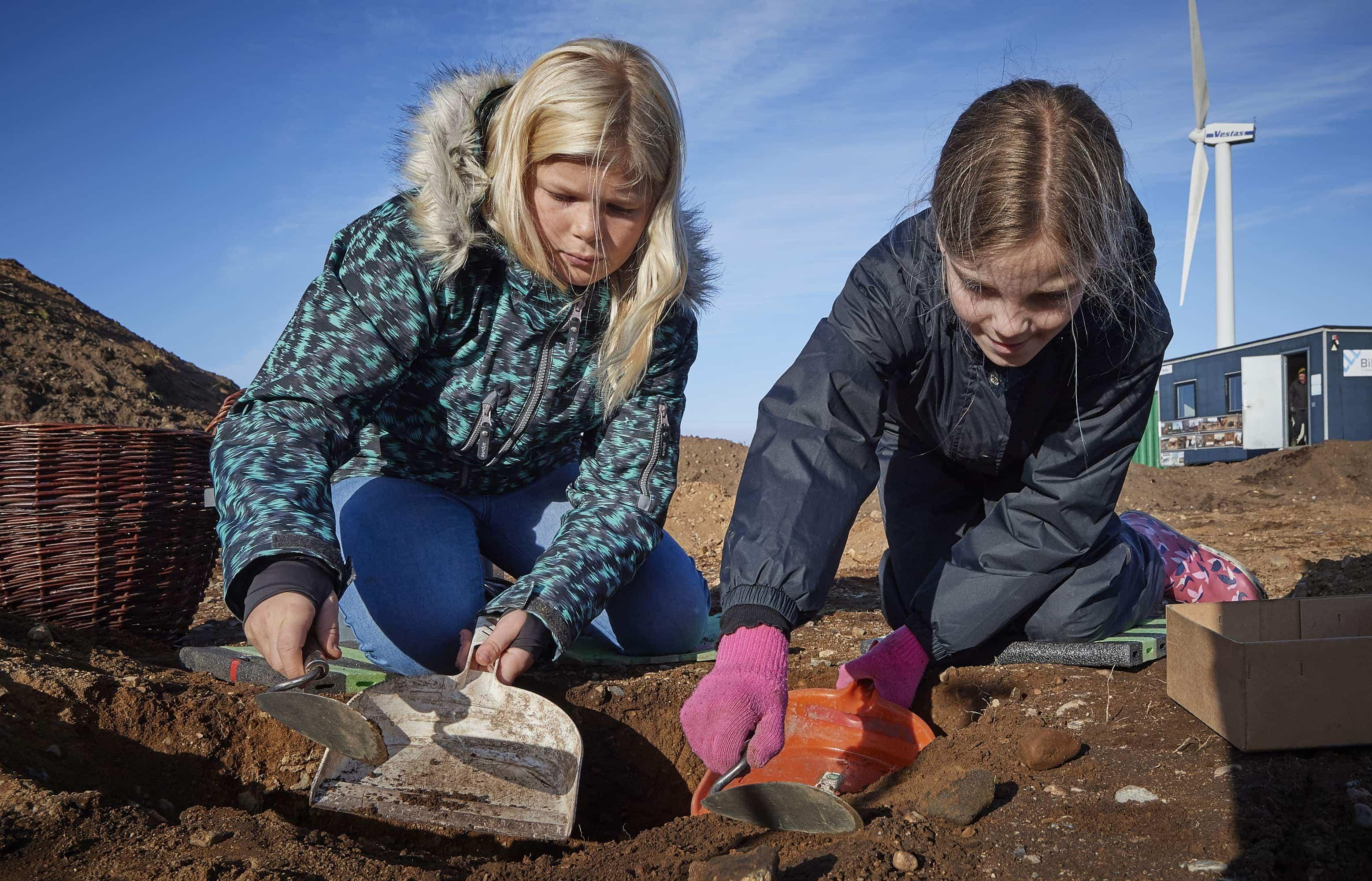 Arkæologi og forhistorie fra sten- til middelalder