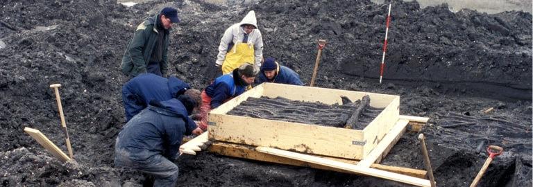 Fiskegærdet fra Slivsø- fiskeri i stenalderen