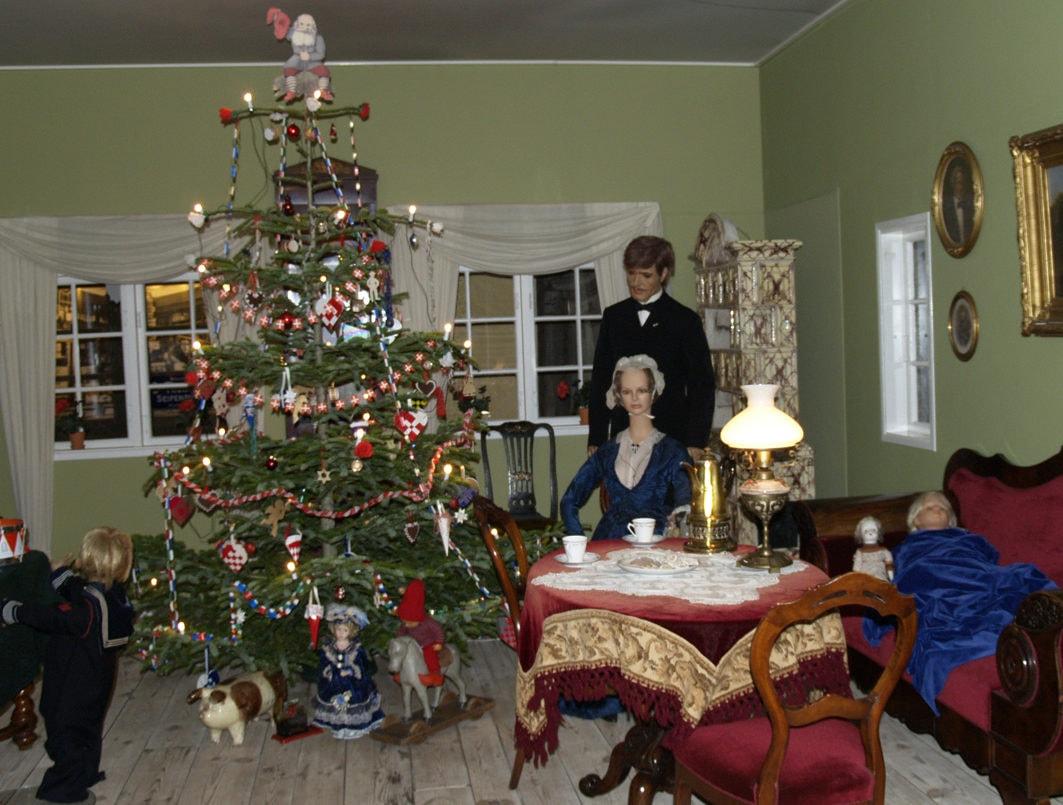 Juleforberedelser i gamle dage