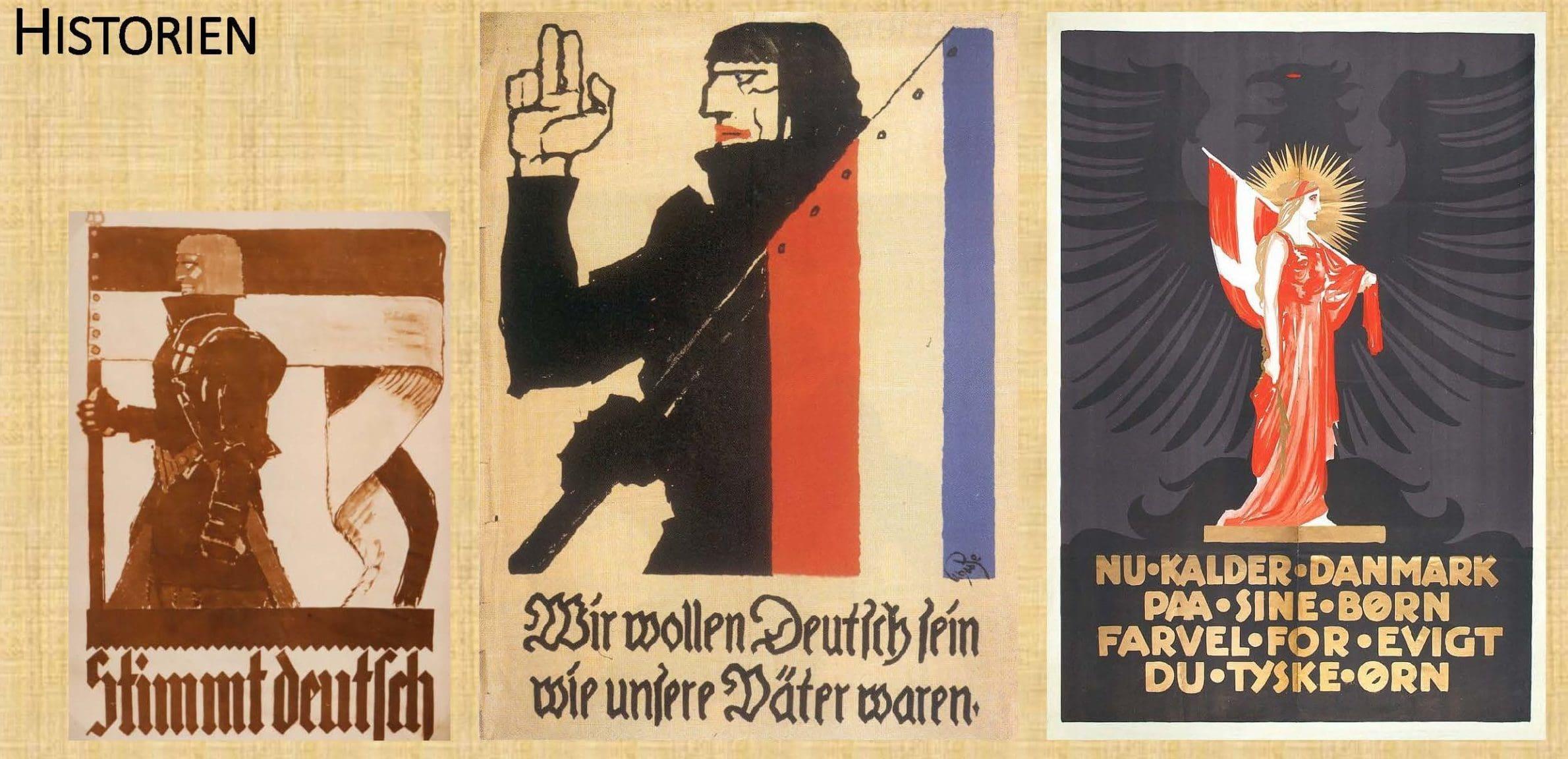 Genforeningens Vilde Valgplakater
